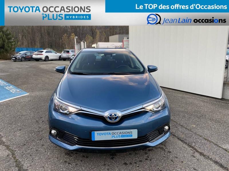 Toyota Auris Auris Hybride 136h HSD E-CVT TYPE ACTIVE 5p Bleu occasion à Tournon - photo n°2