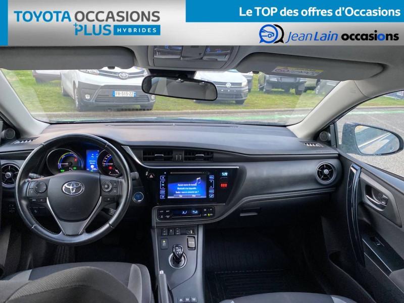 Toyota Auris Auris Hybride 136h HSD E-CVT TYPE ACTIVE 5p Bleu occasion à Tournon - photo n°18