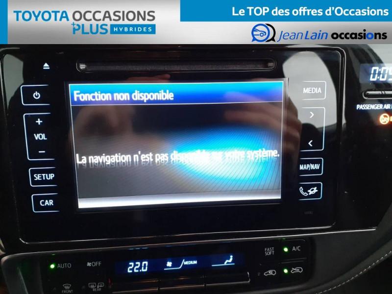 Toyota Auris Auris Hybride 136h HSD E-CVT TYPE ACTIVE 5p Gris occasion à Valence - photo n°15