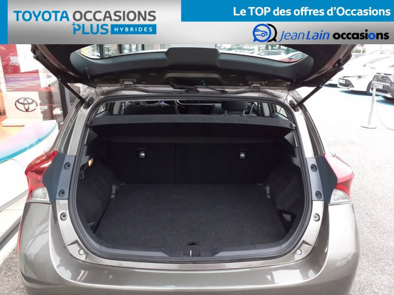 Toyota Auris Auris Hybride 136h HSD E-CVT TYPE ACTIVE 5p Gris occasion à Valence - photo n°10