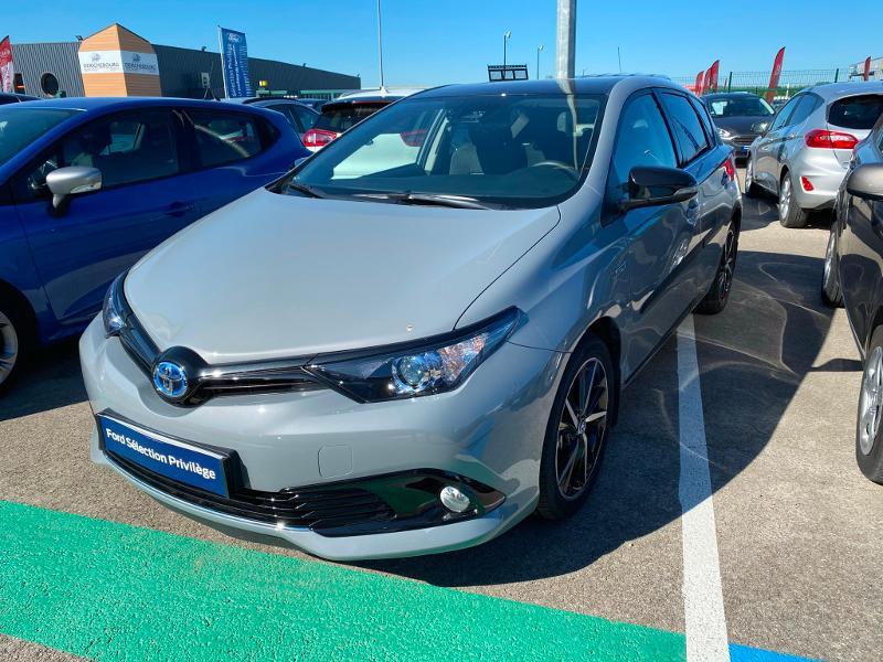 Toyota Auris HSD 136h Collection Gris occasion à Barberey-Saint-Sulpice