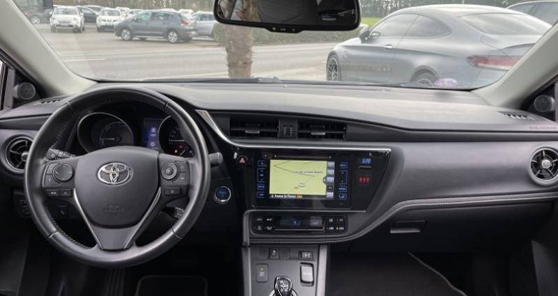 Toyota Auris HSD 136H DESIGN Gris occasion à GUER - photo n°7