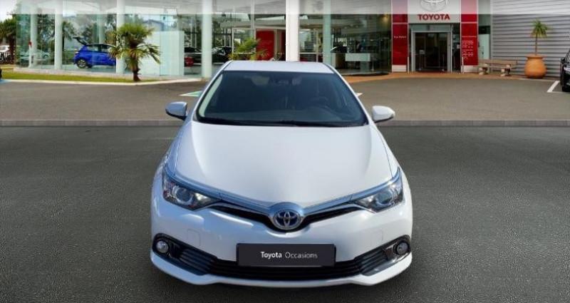 Toyota Auris HSD 136h TechnoLine Blanc occasion à Laxou - photo n°5