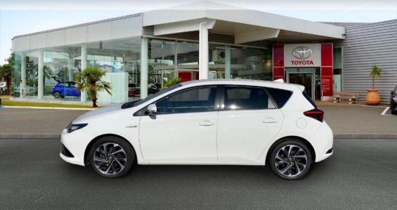 Toyota Auris HSD 136h TechnoLine Blanc occasion à Laxou - photo n°3