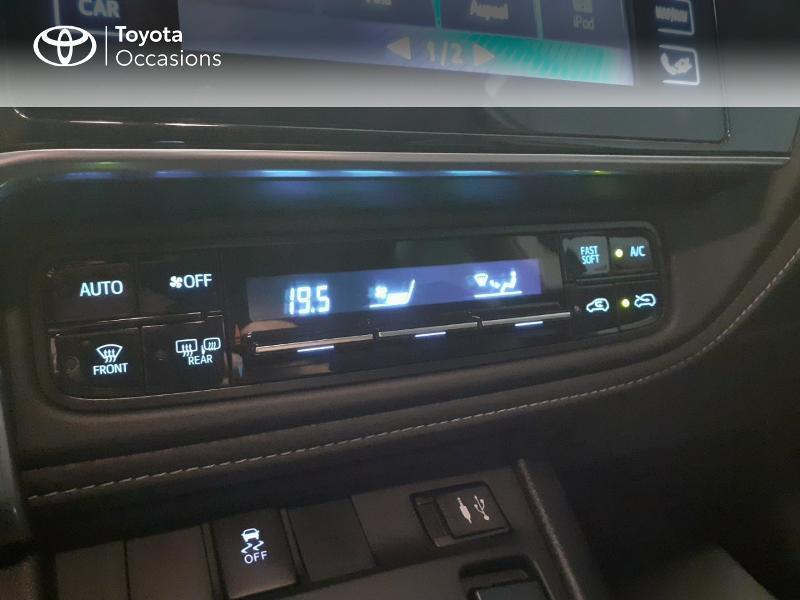 Toyota Auris HSD 136h TechnoLine Gris occasion à LANESTER - photo n°19