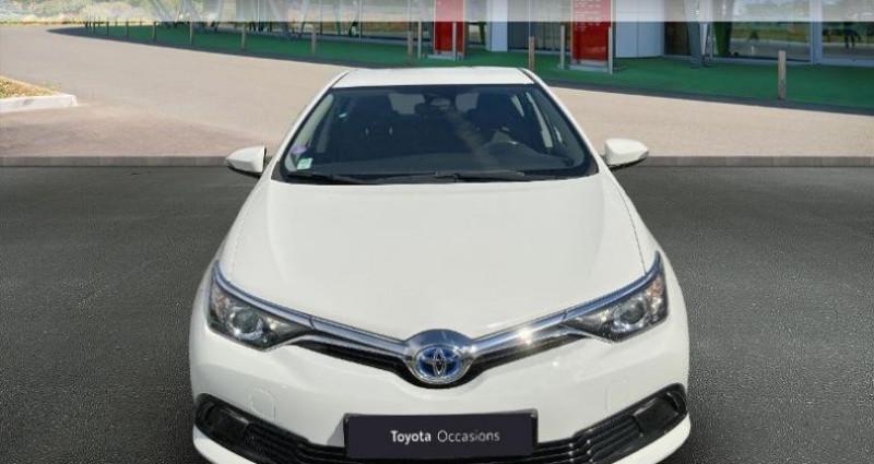 Toyota Auris HSD 136h Tendance Blanc occasion à Tours - photo n°5