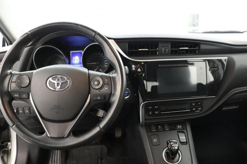 Toyota Auris HYBRIDE 136 CH COLLECTION Gris occasion à Tourville-la-Rivière - photo n°4