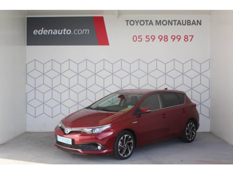 Toyota Auris Hybride 136h Design Rouge occasion à Montauban