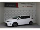 Toyota Auris Hybride 136h Feel! Blanc 2014 - annonce de voiture en vente sur Auto Sélection.com