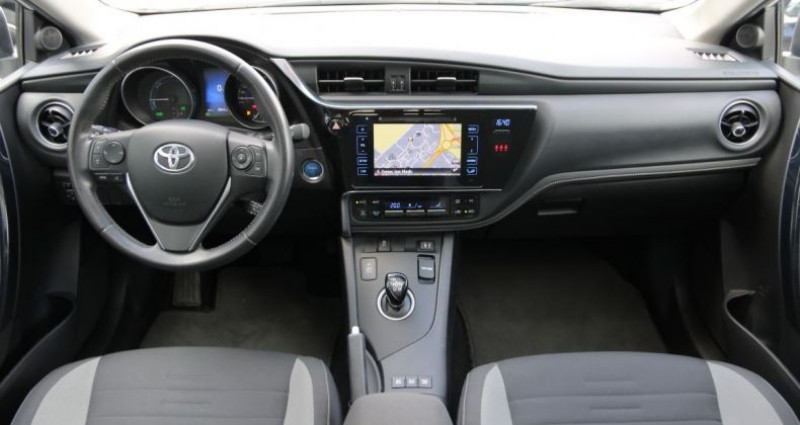 Toyota Auris II (2) 1.8 HYBRIDE 136 DESIGN AUTO Blanc occasion à Jaux - photo n°5
