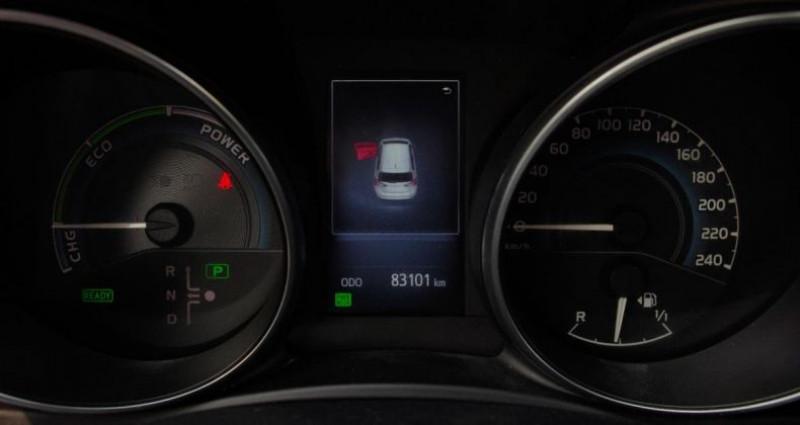 Toyota Auris II (2) HYBRIDE 136H TENDANCE BUSINESS Blanc occasion à Chambourcy - photo n°5