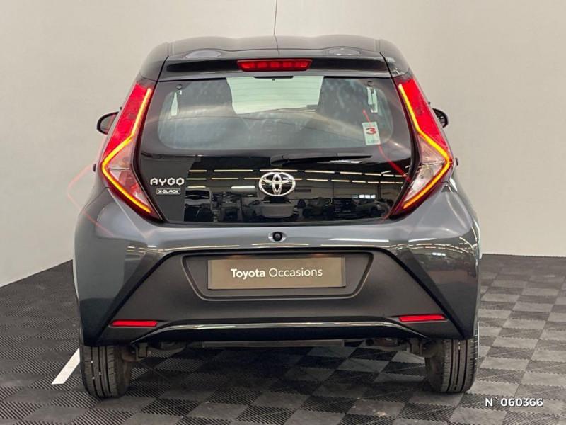 Toyota Aygo 1.0 72 VVTI XBLACK 5P Gris occasion à Rivery - photo n°3