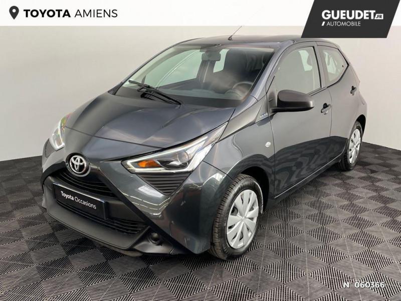 Toyota Aygo 1.0 72 VVTI XBLACK 5P Gris occasion à Rivery