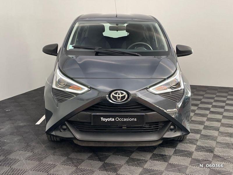 Toyota Aygo 1.0 72 VVTI XBLACK 5P Gris occasion à Rivery - photo n°2