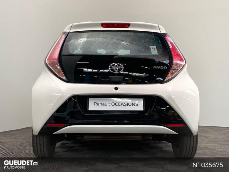 Toyota Aygo 1.0 VVT-i 69ch Rising Star x-shift 5p Blanc occasion à Abbeville - photo n°3