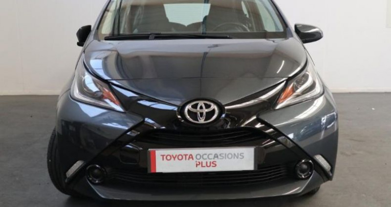 Toyota Aygo 1.0 VVT-i 69ch x-play 5p Gris occasion à Tonnay Charente - photo n°7