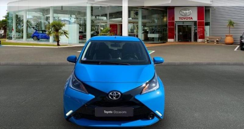 Toyota Aygo 1.0 VVT-i 69ch x-play 5p Bleu occasion à Laxou - photo n°5