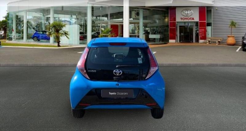 Toyota Aygo 1.0 VVT-i 69ch x-play 5p Bleu occasion à Laxou - photo n°4