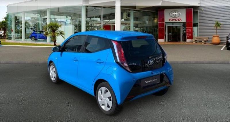 Toyota Aygo 1.0 VVT-i 69ch x-play 5p Bleu occasion à Laxou - photo n°2