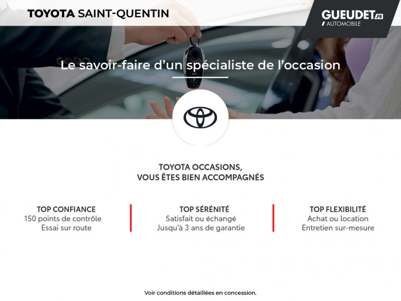 Toyota Aygo 1.0 VVT-i 69ch x-red 2018 3p Rouge occasion à Saint-Quentin - photo n°16