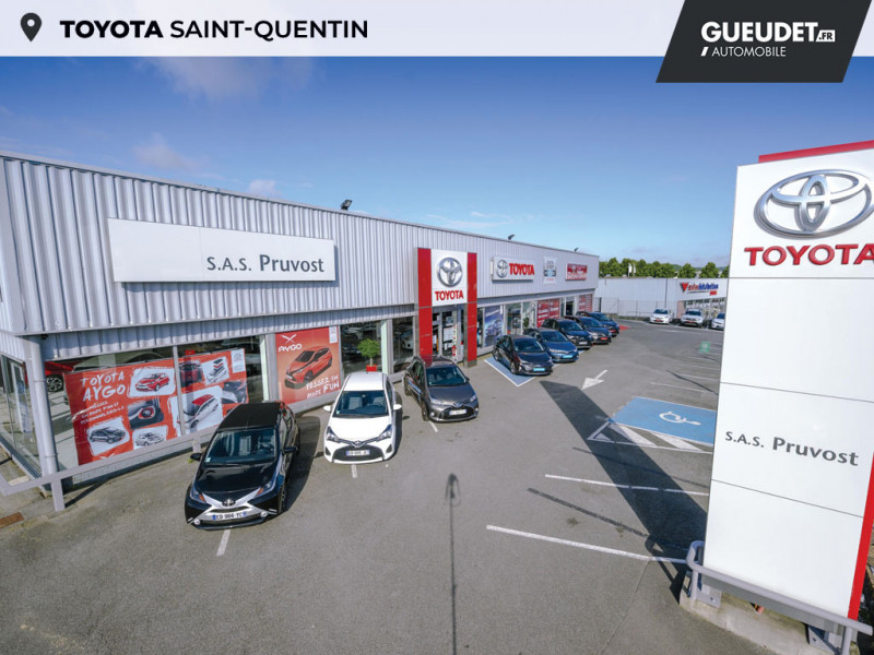 Toyota Aygo 1.0 VVT-i 69ch x-red 2018 3p Rouge occasion à Saint-Quentin - photo n°15