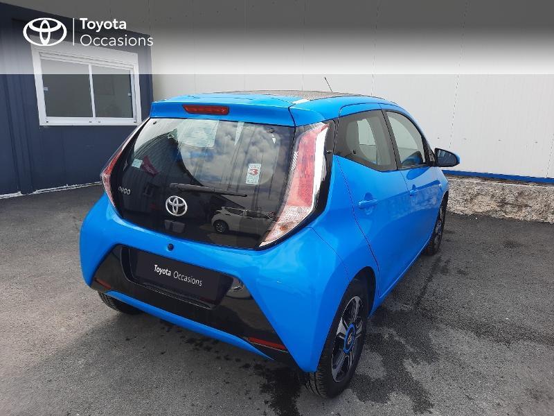 Toyota Aygo 1.0 VVT-i 69ch x-wave 3 5p Bleu occasion à Saint-Jouan-des-Guérets - photo n°2