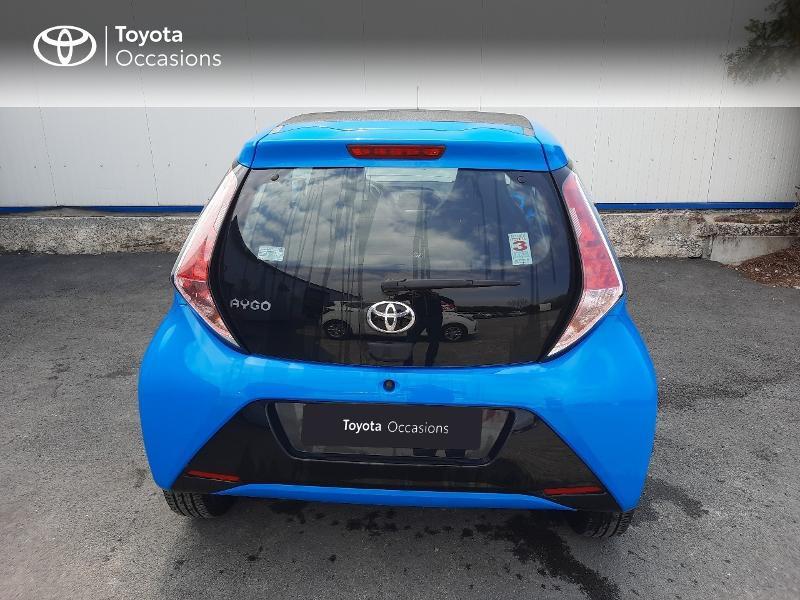 Toyota Aygo 1.0 VVT-i 69ch x-wave 3 5p Bleu occasion à Saint-Jouan-des-Guérets - photo n°4