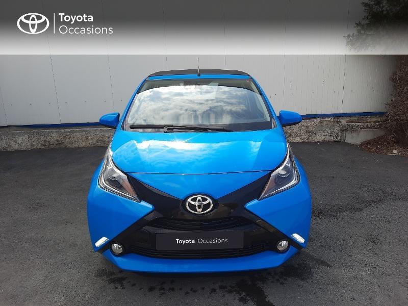 Toyota Aygo 1.0 VVT-i 69ch x-wave 3 5p Bleu occasion à Saint-Jouan-des-Guérets - photo n°5