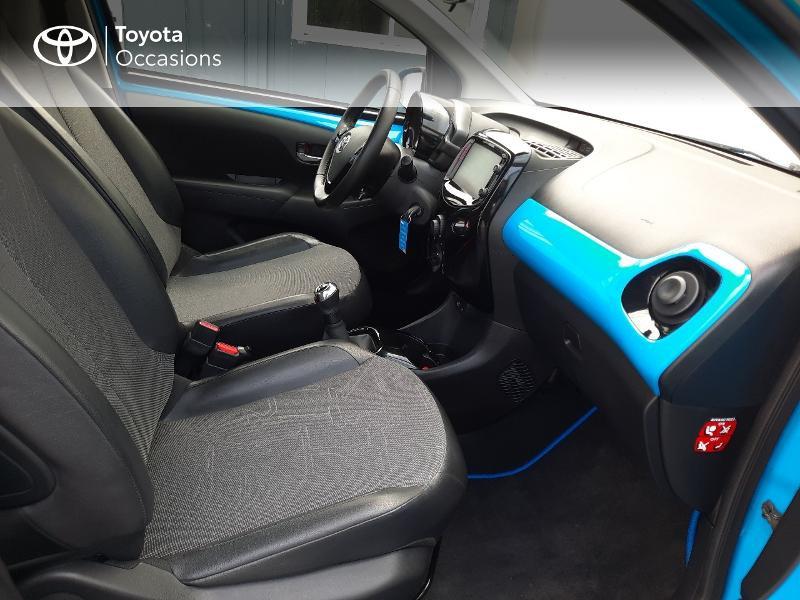 Toyota Aygo 1.0 VVT-i 69ch x-wave 3 5p Bleu occasion à Saint-Jouan-des-Guérets - photo n°6