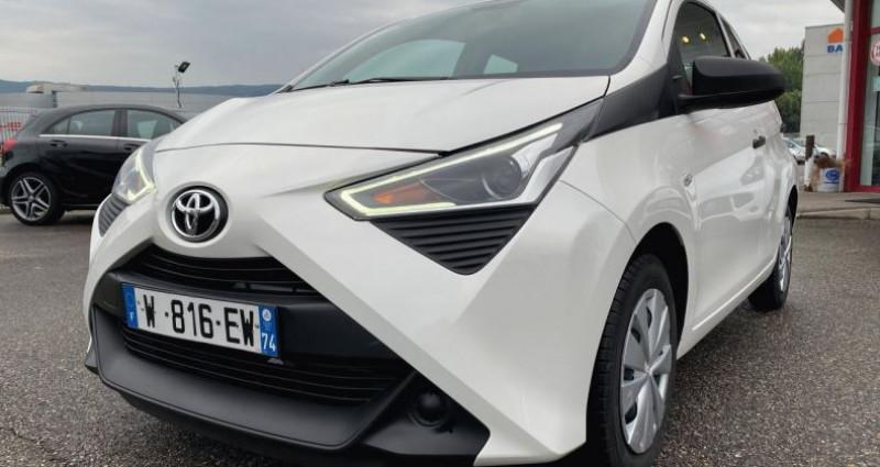Toyota Aygo 1.0 VVT-i 72ch x 5p Blanc occasion à EPAGNY