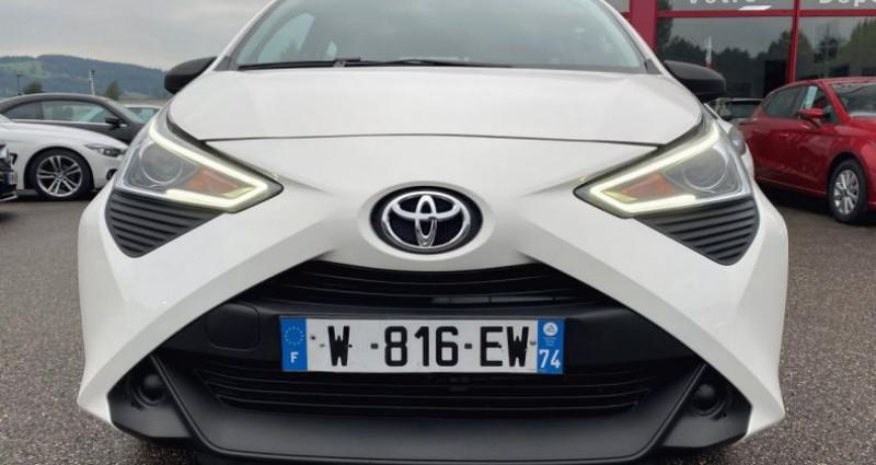 Toyota Aygo 1.0 VVT-i 72ch x 5p Blanc occasion à EPAGNY - photo n°5