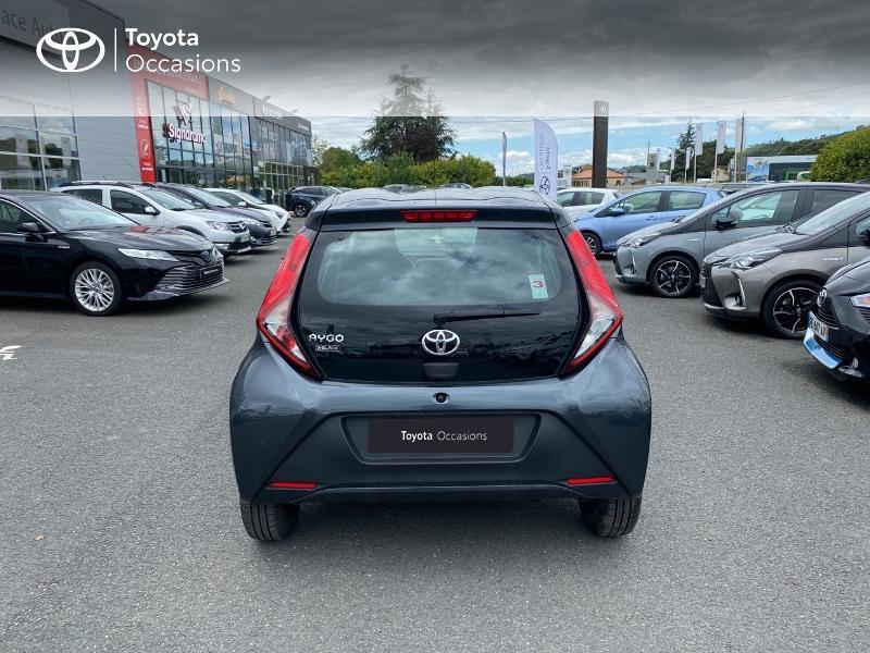 Toyota Aygo 1.0 VVT-i 72ch x-black 5p Noir occasion à Albi - photo n°4