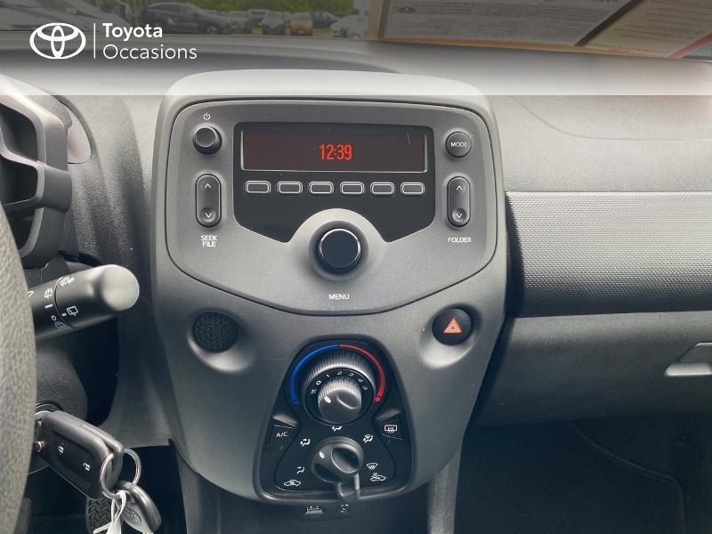 Toyota Aygo 1.0 VVT-i 72ch x-black 5p Noir occasion à Albi - photo n°15