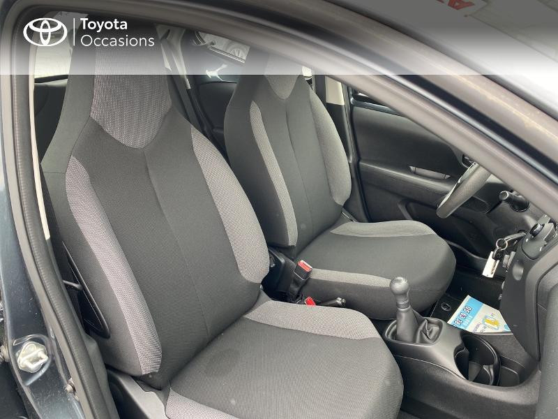 Toyota Aygo 1.0 VVT-i 72ch x-black 5p Noir occasion à Albi - photo n°6