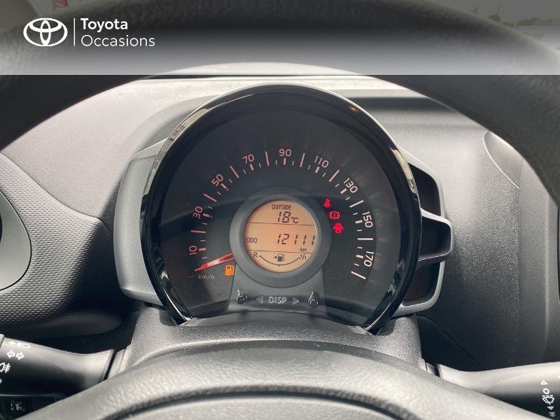 Toyota Aygo 1.0 VVT-i 72ch x-black 5p Noir occasion à Albi - photo n°14