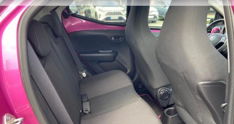 Toyota Aygo 1.0 VVT-i 72ch x-cite 5p Rouge occasion à Saintes - photo n°7