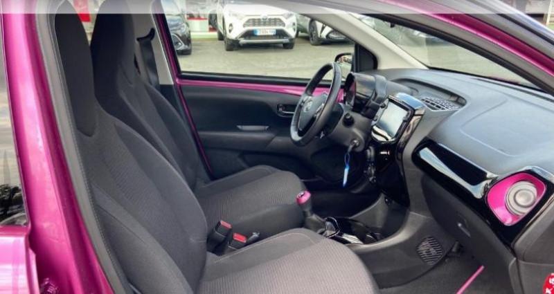 Toyota Aygo 1.0 VVT-i 72ch x-cite 5p Rouge occasion à Saintes - photo n°6