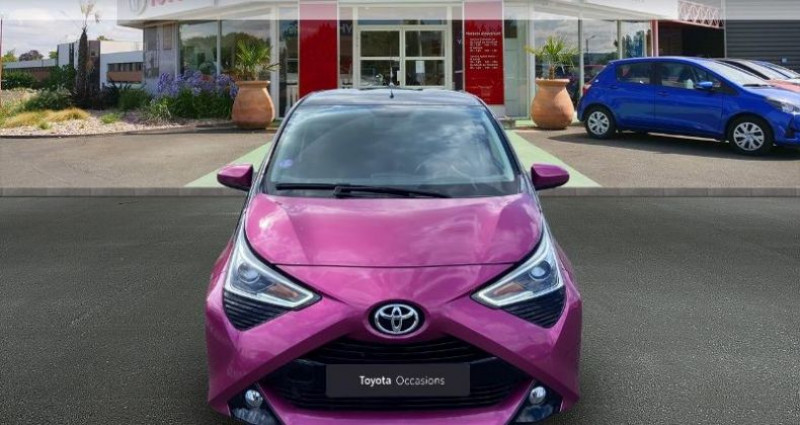 Toyota Aygo 1.0 VVT-i 72ch x-cite 5p Rouge occasion à Saintes - photo n°5