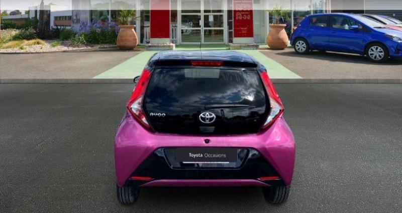 Toyota Aygo 1.0 VVT-i 72ch x-cite 5p Rouge occasion à Saintes - photo n°4