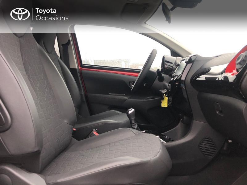 Toyota Aygo 1.0 VVT-i 72ch x-clusiv 5p MY20 Rouge occasion à NOYAL PONTIVY - photo n°12