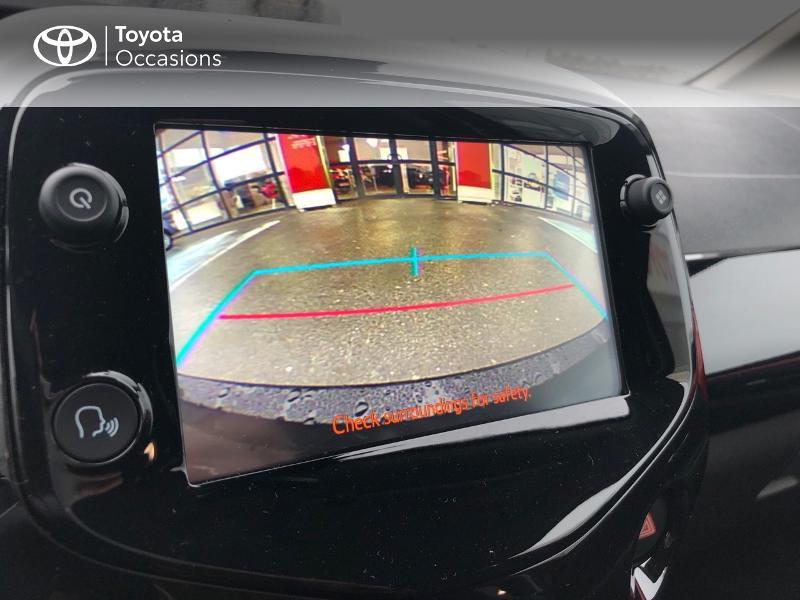 Toyota Aygo 1.0 VVT-i 72ch x-clusiv 5p MY20 Rouge occasion à NOYAL PONTIVY - photo n°18