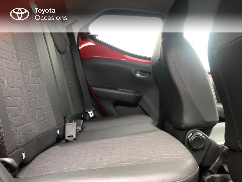 Toyota Aygo 1.0 VVT-i 72ch x-clusiv 5p MY20 Rouge occasion à NOYAL PONTIVY - photo n°8