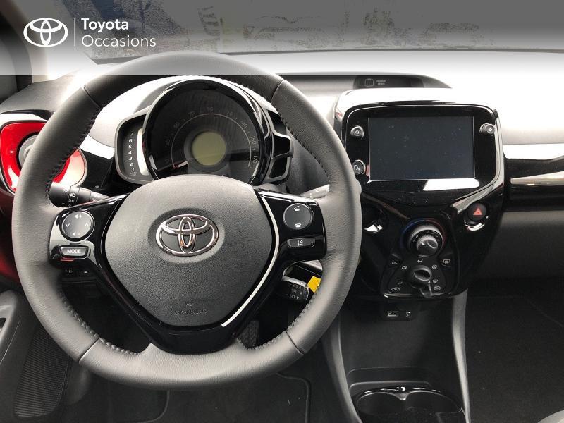 Toyota Aygo 1.0 VVT-i 72ch x-clusiv 5p MY20 Rouge occasion à NOYAL PONTIVY - photo n°10