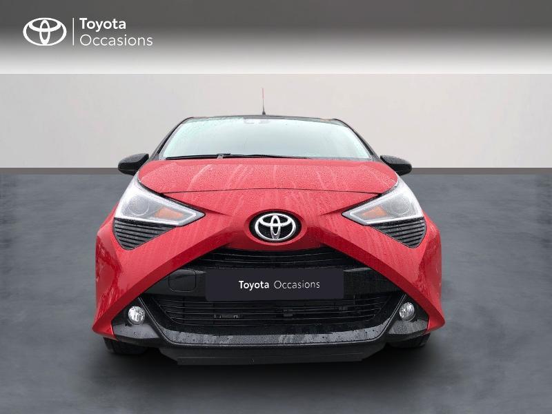 Toyota Aygo 1.0 VVT-i 72ch x-clusiv 5p MY20 Rouge occasion à NOYAL PONTIVY