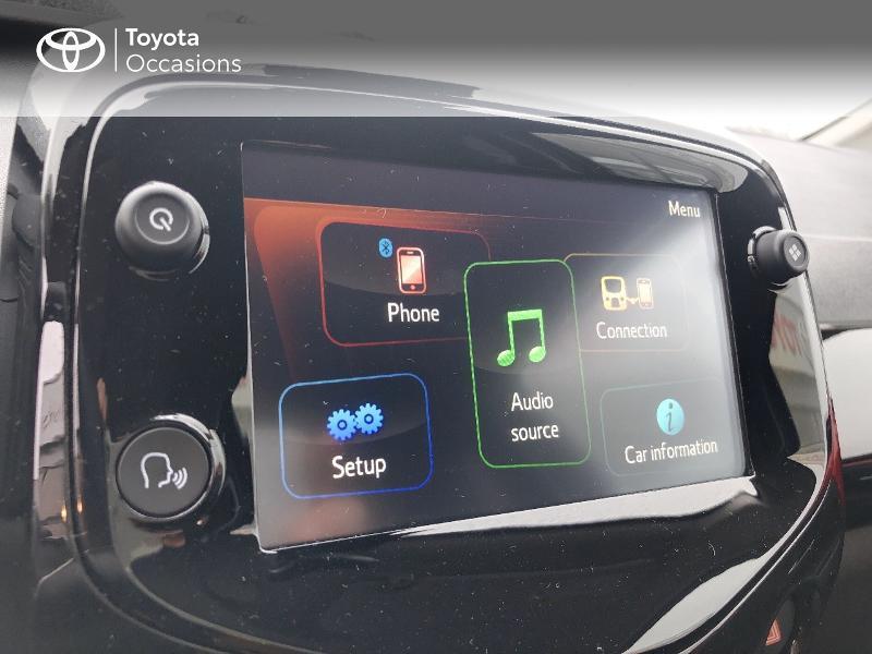 Toyota Aygo 1.0 VVT-i 72ch x-clusiv 5p MY20 Rouge occasion à NOYAL PONTIVY - photo n°13
