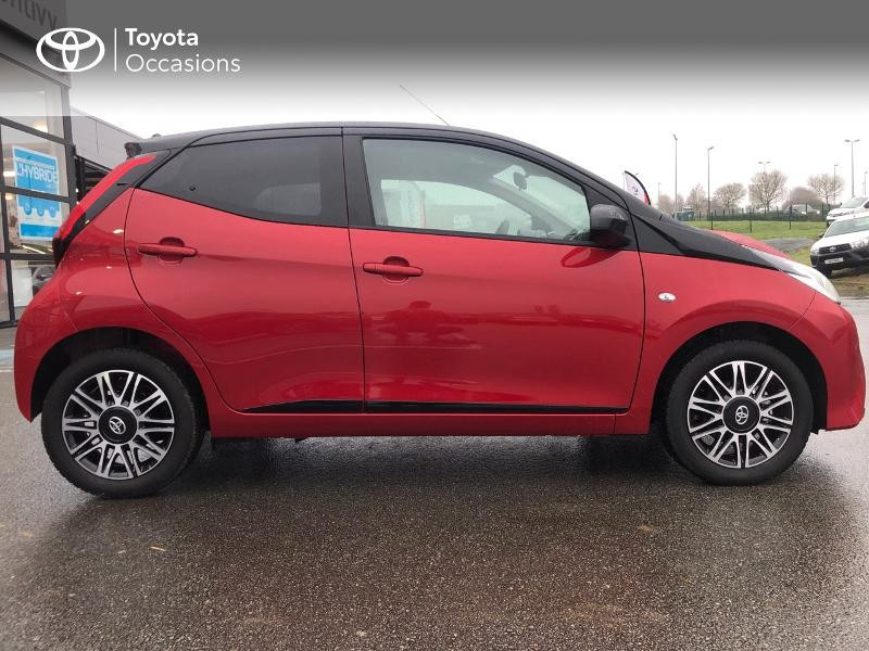 Toyota Aygo 1.0 VVT-i 72ch x-clusiv 5p MY20 Rouge occasion à NOYAL PONTIVY - photo n°20
