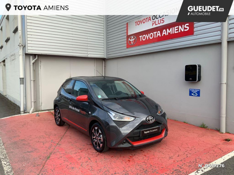 Toyota Aygo 1.0 VVT-i 72ch x-look x-shift 5p MY21 Gris occasion à Rivery
