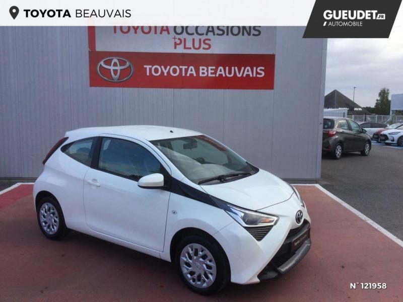 Toyota Aygo 1.0 VVT-i 72ch x-play 3p Blanc occasion à Beauvais