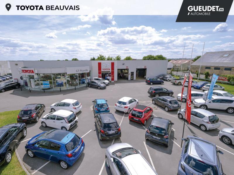 Toyota Aygo 1.0 VVT-i 72ch x-play 3p Blanc occasion à Beauvais - photo n°16