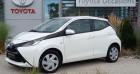 Toyota Aygo 1.0 VVT-i 72ch x-play 5p Blanc à Longuenesse 62
